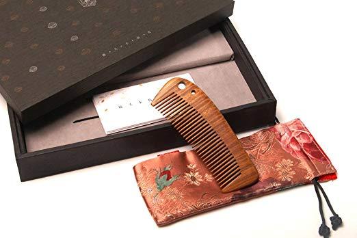 Tan's Gift Set-Comb Jade Sandalwood 7-4