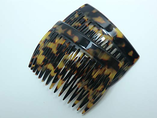 Charles J. Wahba 15 Tooth French Side Comb Pair - Tokyo