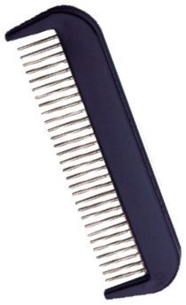 The Hair Doctor Mini Rotating Tooth Fine Spaced Hair Comb 4 Inches