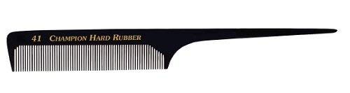Champion Rat Tail Comb 8 Edged Back Medium/Coarse Teeth # C41 by Champion