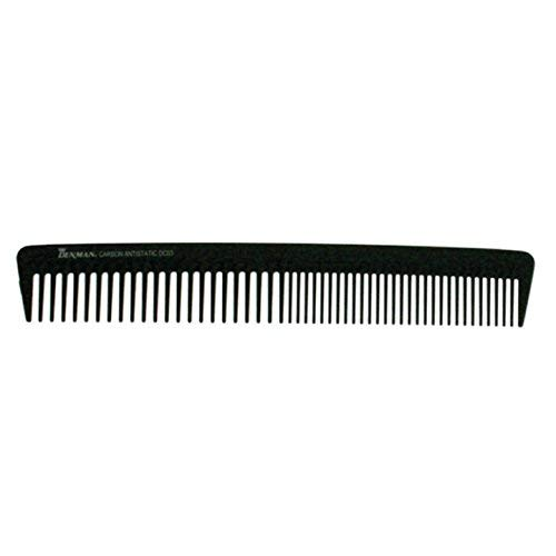 Denman Small Carbon Anti-Static Cutting Comb, Small