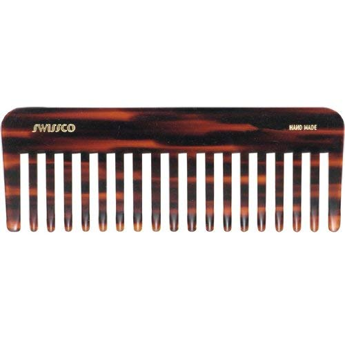 Swissco Tortoise Wet Comb Wide Tooth