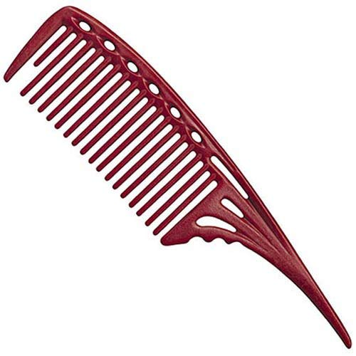 YS Park 603 Large Tail Comb - Red