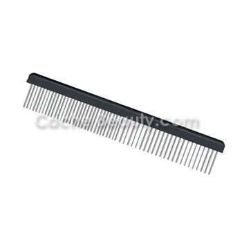 Hair Doctor Extra-long Rotating Tooth Comb * Black