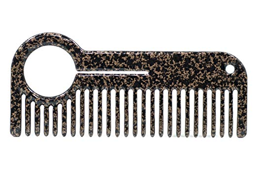 HEIRCOMB Copper Clad Stainless Steel Metal Beard Comb